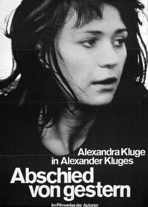 Abschied von gestern - - German Movie Poster (thumbnail)