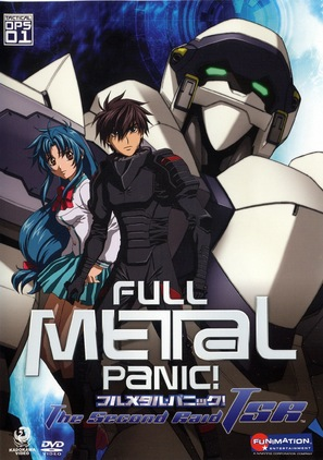 """Full Metal Panic! The Second Raid"" - Movie Cover (thumbnail)"