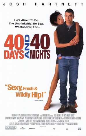 40 Days and 40 Nights - Movie Poster (thumbnail)