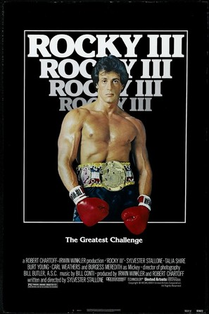 Rocky III - Movie Poster (thumbnail)