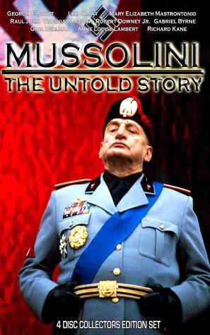 """Mussolini: The Untold Story"" - DVD cover (thumbnail)"