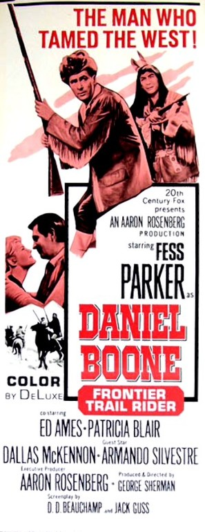 Daniel Boone: Frontier Trail Rider - Movie Poster (thumbnail)