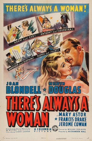 There's Always a Woman - Movie Poster (thumbnail)