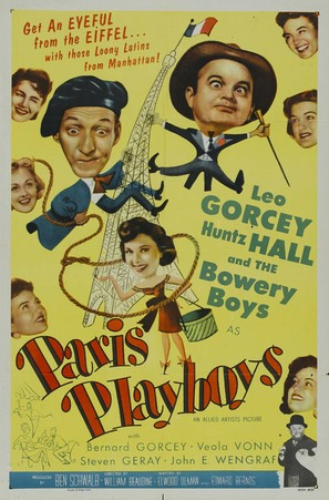 Paris Playboys - Movie Poster (thumbnail)