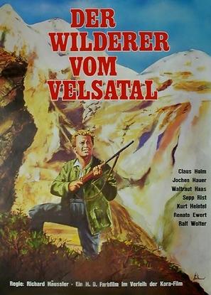 Der Adler vom Velsatal - German Movie Poster (thumbnail)