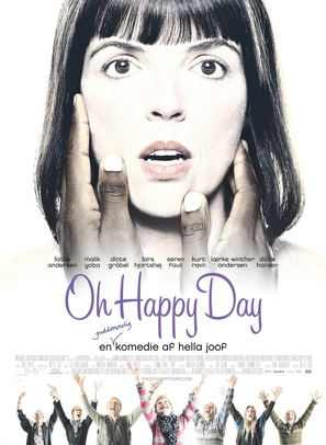 Oh Happy Day - Danish Movie Poster (thumbnail)