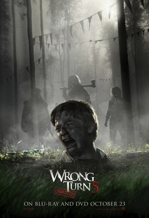 Wrong Turn 5 - Video release poster (thumbnail)
