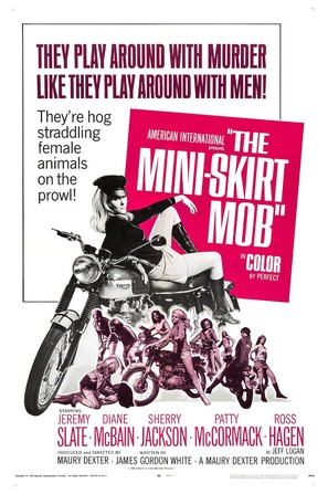 The Mini-Skirt Mob - Movie Poster (thumbnail)