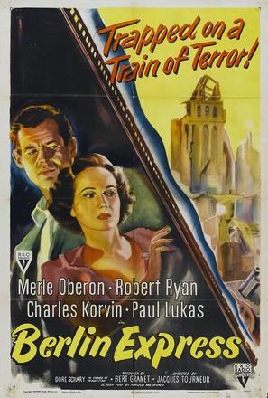 Berlin Express - Movie Poster (thumbnail)