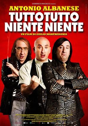 Tutto tutto niente niente - Italian Movie Poster (thumbnail)