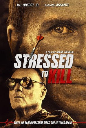 Stressed to Kill - DVD movie cover (thumbnail)