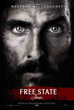 Free State of Jones - Movie Poster (thumbnail)