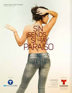 """Sin Senos Sí Hay Paraíso"" - Colombian Movie Poster (thumbnail)"