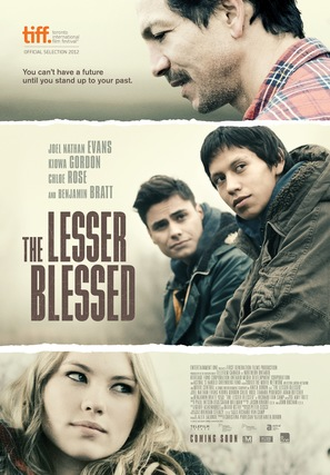 The Lesser Blessed - Canadian Movie Poster (thumbnail)