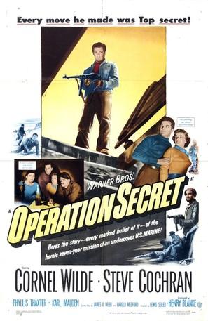Operation Secret - Movie Poster (thumbnail)