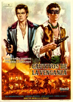 Fratelli Corsi, I - Spanish Movie Poster (thumbnail)