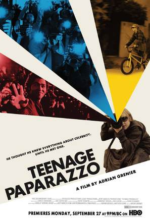 Teenage Paparazzo - Movie Poster (thumbnail)