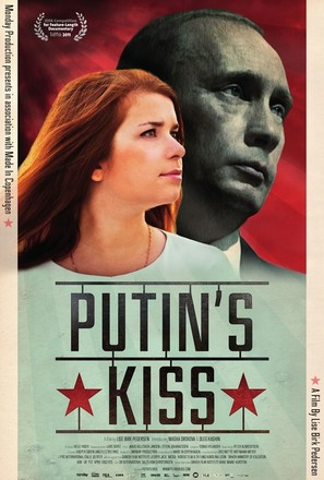 Putin's Kiss - Danish Movie Poster (thumbnail)