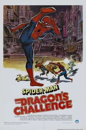 Spider-Man: The Dragon's Challenge - Movie Poster (thumbnail)