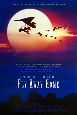 Fly Away Home - Movie Poster (thumbnail)