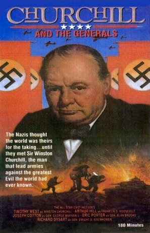 Churchill and the Generals - British Movie Cover (thumbnail)