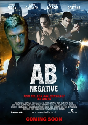 AB Negative - British Movie Poster (thumbnail)