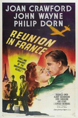 Reunion in France - Movie Poster (thumbnail)