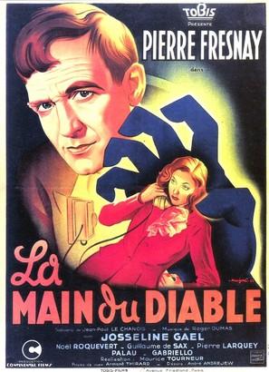 La main du diable - French Movie Poster (thumbnail)