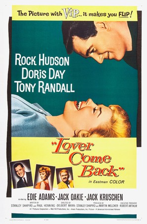 Lover Come Back - Theatrical movie poster (thumbnail)