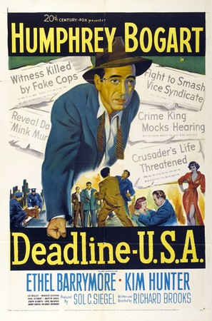 Deadline - U.S.A. - Movie Poster (thumbnail)