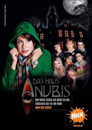 """Das Haus Anubis"" - German Movie Poster (thumbnail)"