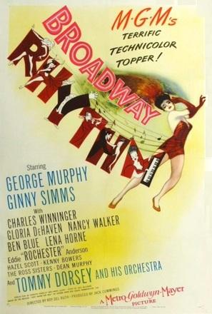 Broadway Rhythm - Movie Poster (thumbnail)