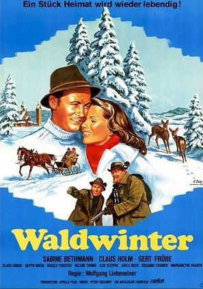 Waldwinter - German Movie Poster (thumbnail)