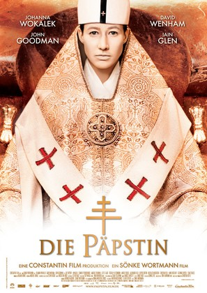 Die Päpstin - German Movie Poster (thumbnail)
