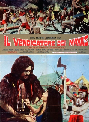 Maciste il vendicatore dei Maya - Italian Movie Poster (thumbnail)