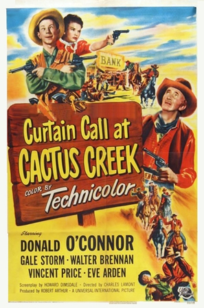 Curtain Call at Cactus Creek - Movie Poster (thumbnail)