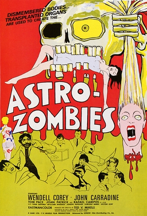 The Astro-Zombies - Movie Poster (thumbnail)