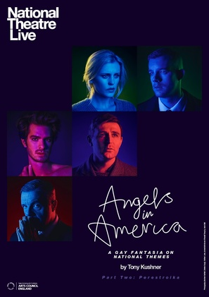 National Theatre Live: Angels in America Part Two - Perestroika - British Movie Poster (thumbnail)