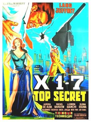 Agente X 1-7 operazione Oceano - French Movie Poster (thumbnail)