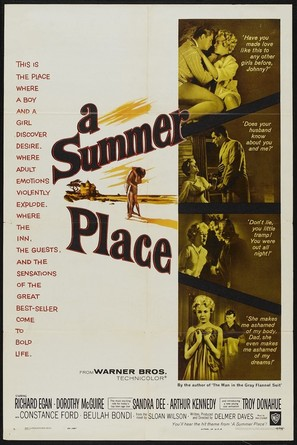 A Summer Place - Movie Poster (thumbnail)