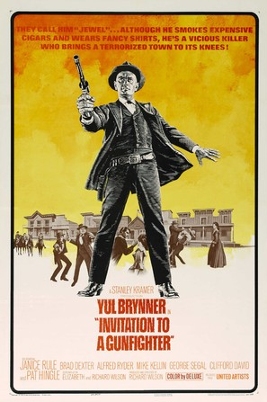 Invitation to a Gunfighter - Movie Poster (thumbnail)