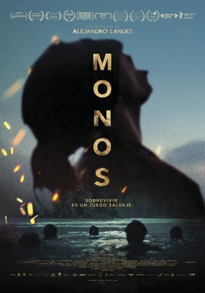 Monos - Colombian Movie Poster (thumbnail)