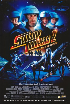 Starship Troopers 2 - Video release movie poster (thumbnail)