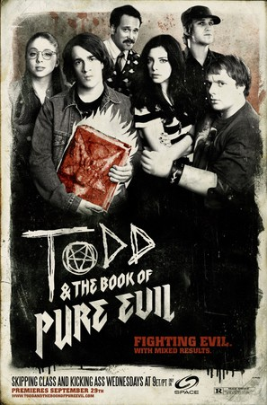 """Todd and the Book of Pure Evil"" - Movie Poster (thumbnail)"
