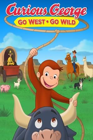 Curious George: Go West, Go Wild - Movie Cover (thumbnail)
