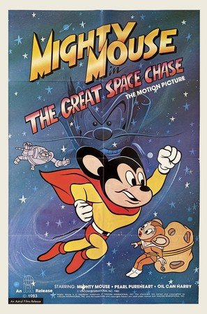 Mighty Mouse in the Great Space Chase - Movie Poster (thumbnail)