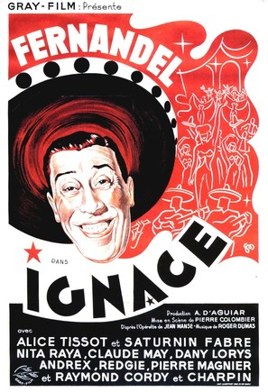 Ignace - French Movie Poster (thumbnail)