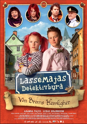 LasseMajas detektivbyrå - Von Broms hemlighet - Swedish Movie Poster (thumbnail)