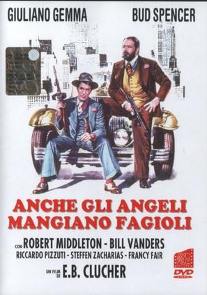 Anche Gli Angeli Mangiano Fagioli - Italian DVD movie cover (thumbnail)