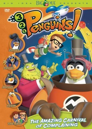 3-2-1 Penguins: The Amazing Carnival of Complaining - DVD movie cover (thumbnail)